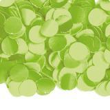 Einfarbiges Papier-Konfetti 100 gr-hellgrün