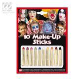 10 Make-Up Stifte in versch. Farben