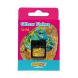 """Zuckerstreusel """"Glitzer-Flakes"""" 1,5 g-gold"""