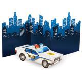 """3D-Tischdeko """"Coole Polizei"""" 68,5 cm"""