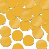 Einfarbiges Metallic Konfetti 28 g-gold
