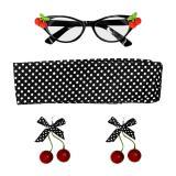 Accessoire-Set 50ies Cherry Lady 4-tlg.