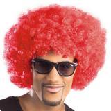 Afro Perücke-rot