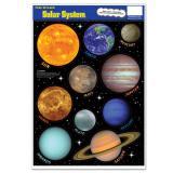 """Aufkleber """"Sonnensystem"""" 10-tlg."""