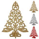 """Aufsteller """"Funkelnder Weihnachtsbaum"""" 15 cm"""