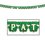 "Buchstaben-Girlande ""Happy St. Patrick's Day"" 2,1 m"
