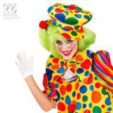 Bunte Clowns-Mütze