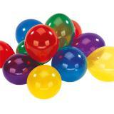 Bunte Kristall-Luftballons 8er Pack