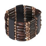 Busch-Armband Holzoptik
