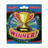 """Button """"Winner"""" 11 cm"""