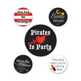 "Buttons ""Piraten"" 5er Pack"
