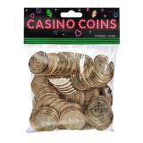"Casino-Münzen ""Dollar"" 144er Pack"