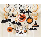 "Deckenhänger ""Halloween Spaß"" 30-tlg."