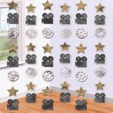Deckenhänger Hollywood-Glanz 213 cm 6er Pack