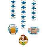 "Deckenhänger ""Zünftiges Oktoberfest"" 3er Pack"