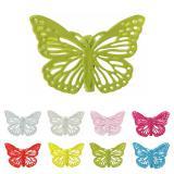 """Deko-Klammern aus Metall """"Schmetterling"""" 4er Pack"""