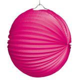 """Einfarbiger Lampion """"Farbenrausch"""" 25 cm-pink"""