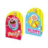 """Einladungskarten """"Party"""" mit Umschlag 8er Pack"""