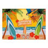 """Einladungskarten """"Strandparty"""" 6er Pack"""