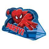 """Einladungskarten """"Spiderman-Party"""" mit Umschlag 8er Pack"""