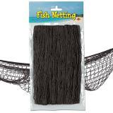 Fischernetz zur Dekoration 370 cm  x 120 cm-schwarz
