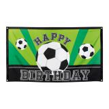 "Geburtstags-Flagge ""Fußball-Traum"" 150 x 90 cm"