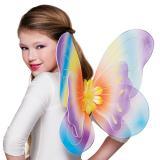 """Flügel """"Farbenfrohe Elfe"""" für Kinder 36,5 x 47 cm"""
