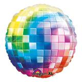 "Folien-Ballon ""Buntes Disco Fever"" 81 cm"