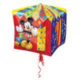 "Folienballon ""Micky Maus 1. Geburtstag"" 38 cm"