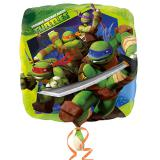 """Folien-Ballon """"Ninja Turtles"""" 43 cm"""