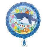 """Folien-Ballon """"Party im Meer"""" 43 cm"""
