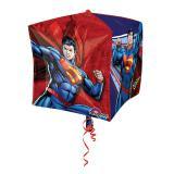 """Folien-Ballon """"Der wahre Superman"""" 38 x 38 cm"""