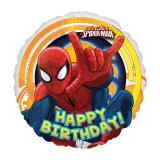 "Folien-Ballon ""Der ultimative Spiderman-Party"" 43 cm"