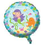 """Folienballon """"Kleine Meerjungfrau und Freunde"""" 45 cm"""