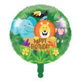 """Folienballon """"Fröhlicher Dschungel"""" 46 cm"""