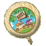 "Folien-Ballon Happy Birthday ""Safari Tour"" 45 cm"