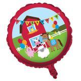 """Folien-Ballon Happy Birthday """"Meine kleine Farm"""" 45 cm"""