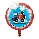"Folienballon ""Kunterbunte Eisenbahn"" 43,5 cm"