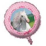 "Folienballon ""Rosa Pferdetraum"" 45 cm"