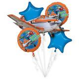 "Folienballon-Set ""Planes"" 5-tlg."
