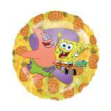 "Folienballon ""SpongeBob und Patrick"" 43 cm"