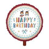 "Folienballon ""Tipi und Tomahawk"" 43 cm"