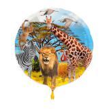 "Folienballon ""Wildes Safarileben"" 43 cm"