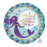 """Folienballon """"Zauberhafte Meerjungfrau"""" 45 cm"""