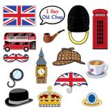 """Foto-Accessoires """"London Calling"""" 15-tlg."""