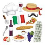 """Foto-Requisiten-Set """"Italien"""" 15-tlg."""