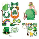 "Foto-Requisiten-Set ""St. Patrick's Day"" 12-tlg."