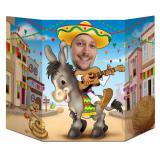 Fotowand Mexikanische Fiesta 94 x 64 cm