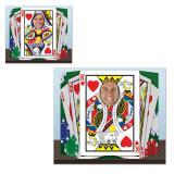 "Fotowand ""Spielkarten"" 94 x 64 cm"