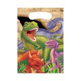 """Geschenk-Tütchen """"Gefährliche Dinosaurier"""" 8er Pack"""